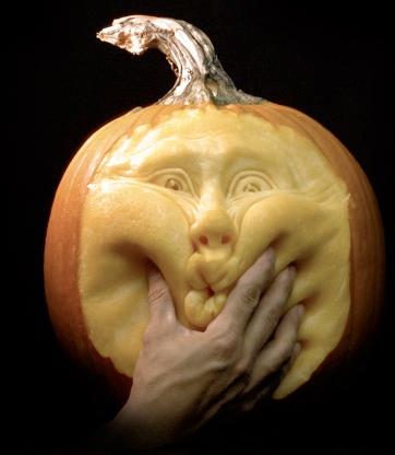 ray villafane pumpkin carving animated faces