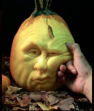 ray villafane pumpkin carving expression