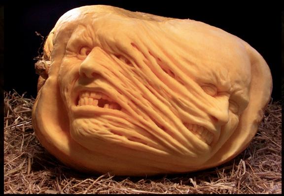ray villafane pumpkin carving faces