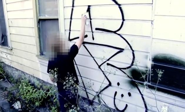 remio graffiti bombing