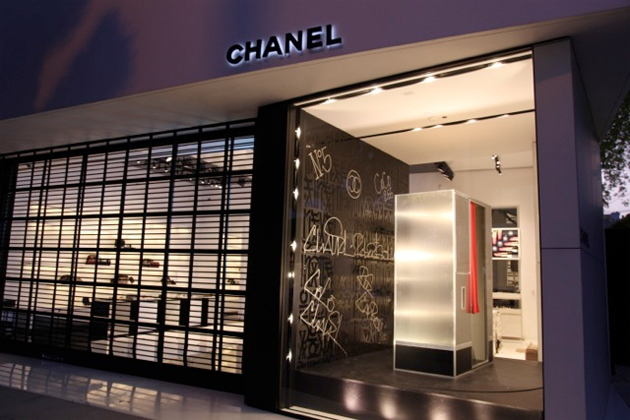 retna chanel store front