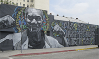 New Retna and El Mac Mural in LA
