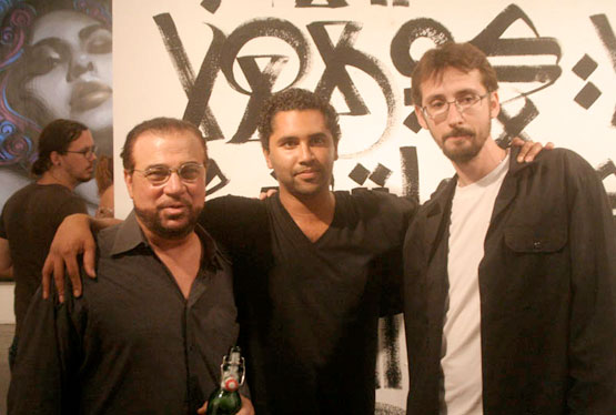 Retna and The Mac Art Opening