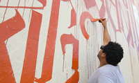 Retna Tribute Wall in Wynwood