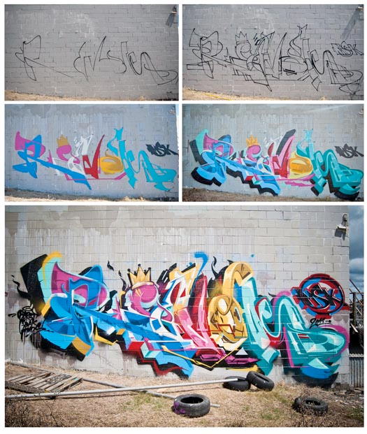 revok graffiti by berst