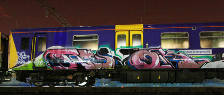 Revok Train Graffiti