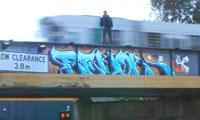 Revok Arrested for Graffiti
