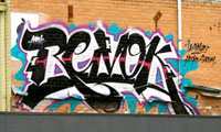 Revok Getting Up In Melbourne