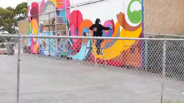 reyes graffiti elementary school