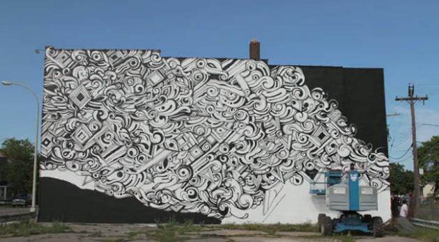 reyes mural detroit graffiti