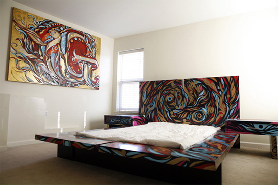 Reyes Graffiti Bedroom Design | Senses Lost