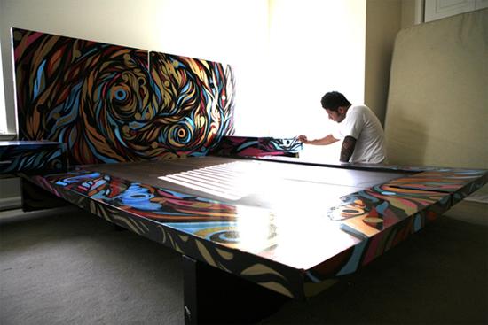 Graffiti Bedroom Art For Sale Hire A Graffiti Artist Graffiti 7979
