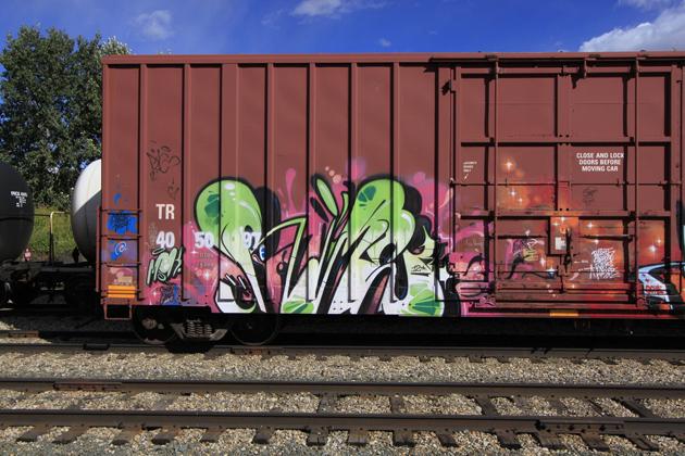 rime msk graffiti boxcar