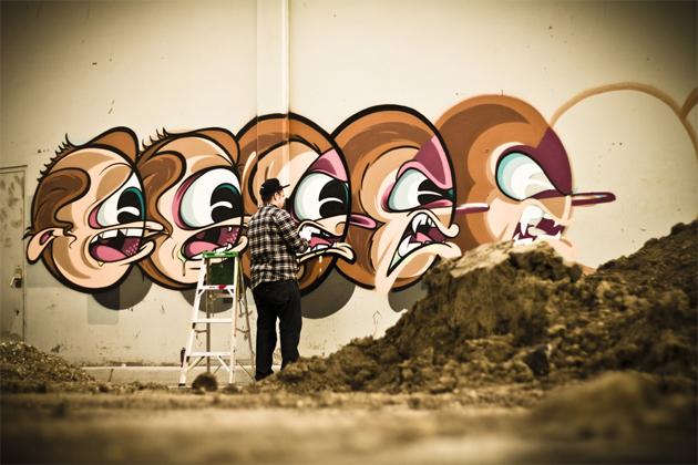 rime msk graffiti character heads la