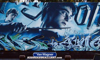 Rime & Augor Harry Potter Graffiti Billboard