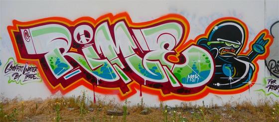 Rime Graffiti