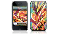 Rime Graffiti GelaSkins for the iPhone