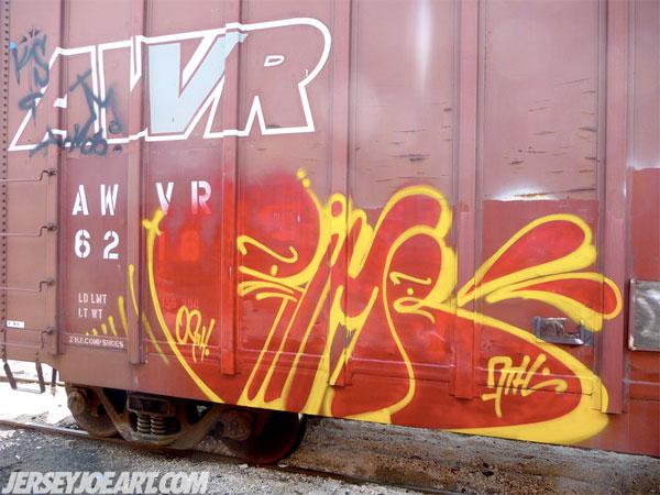 Rime Freight Graffiti