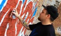 Rime Graffiti in Detroit