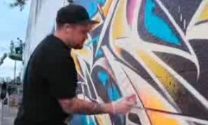 Rime Graffiti in Miami