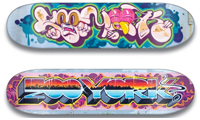 Rime & Zoo York Skateboard Designs