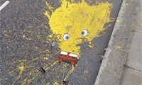 Spongebob Squarepants Roadkill