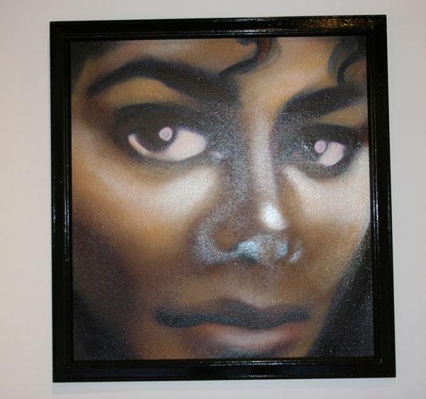 Egr Michael Jackson portrait