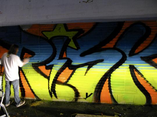 risk graffiti