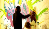 Risk Paints A Tribal Piece