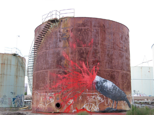 roa bird oil refinery california
