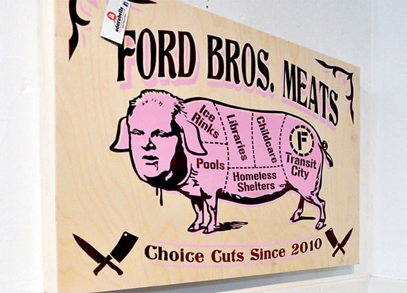 rob ford pig by spud