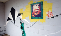 Graffiti Artist Targets Rob Ford