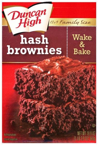 ron english hash brownies