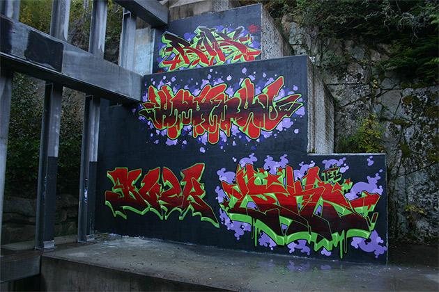 ruk smerk buck liks graffiti