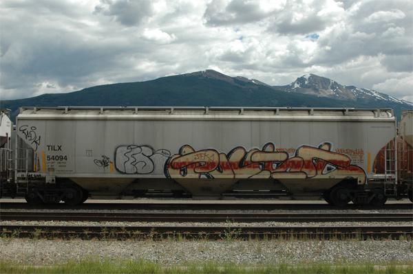 rust graffiti