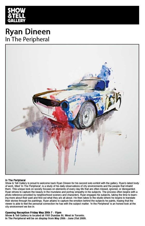 Ryan Dineen Art Show