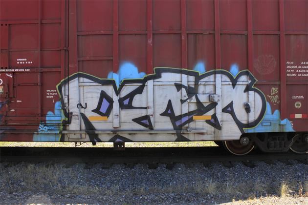 ryze graffiti boxcar