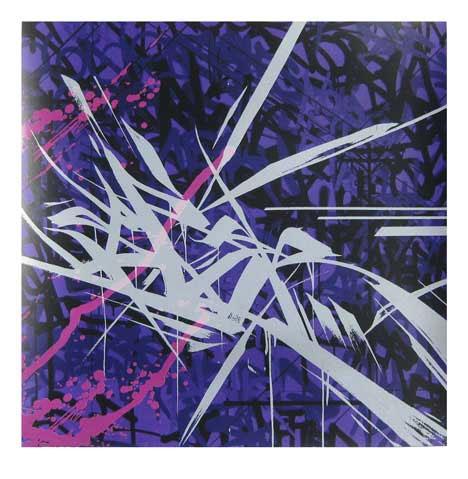 Saber Graffiti Print