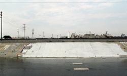 Saber LA River Graffiti Buffed