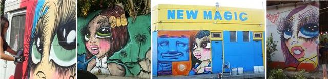 sandone graffiti girls walls