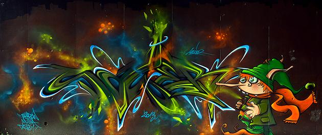 sawer graffiti wall