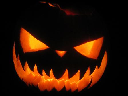 Scary Face Pumpkin