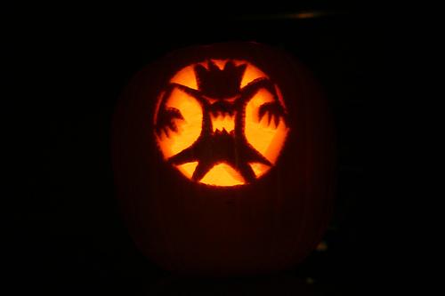 Scary Tree Pumpkin