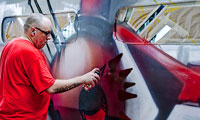 Seak Painting Thalys Train Legally