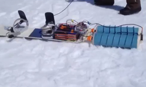 Self-Propelled Snowboard