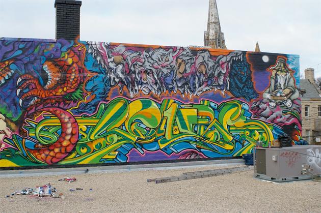 Graffiti Decoy