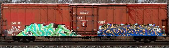 Sensr Kwest Freight Graffiti