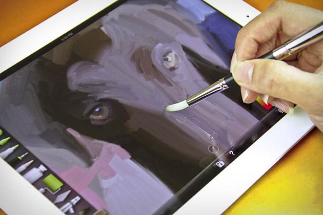 sensu paint brush for ipad