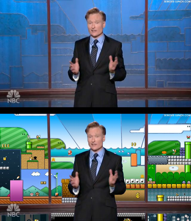 Conan Backdrop Nintendo