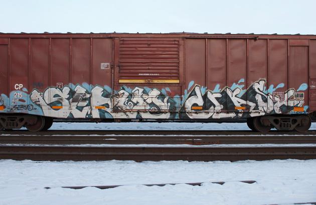 servo ceast freight graffiti